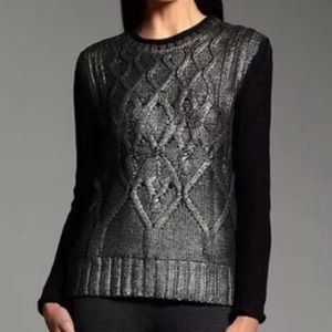 NWT Narciso Rodriguez Foil Print Sweater